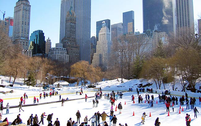 Central Park's Wollman Rink (Photo: tomasfano/Flickr CC)