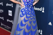 """Paris Jackson Stuns in Colorful """"Bird of Happiness"""" Dre..."""