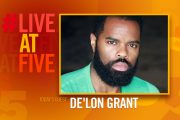 Broadway.com #LiveatFive with De'Lon Grant of Come From Away...