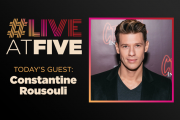 Broadway.com #LiveatFive with Constantine Rousouli of Cruel Inten...