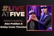 Broadway.com #LiveatFive with Alex Prakken and Bobby Conte Thornt...
