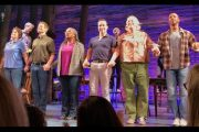 Come From Away Broadway Musical - Curtain Call 4/12/17...