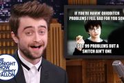 Daniel Radcliffe Reacts to Harry Potter Memes...