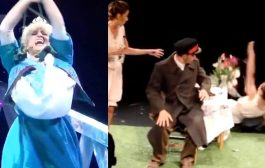 TOP 20 FUNNY THEATER FAILS, STAGE FALLS & THEATRE BLOOPERS | ...