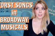 The Worst Songs in Broadway Musicals   *nerdy rant warning*...