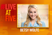 Broadway.com #LiveatFive with Betsy Wolfe of Waitress...