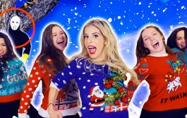 REBECCA ZAMOLO Christmas SWEATER Official Music Video! (Game Mast...